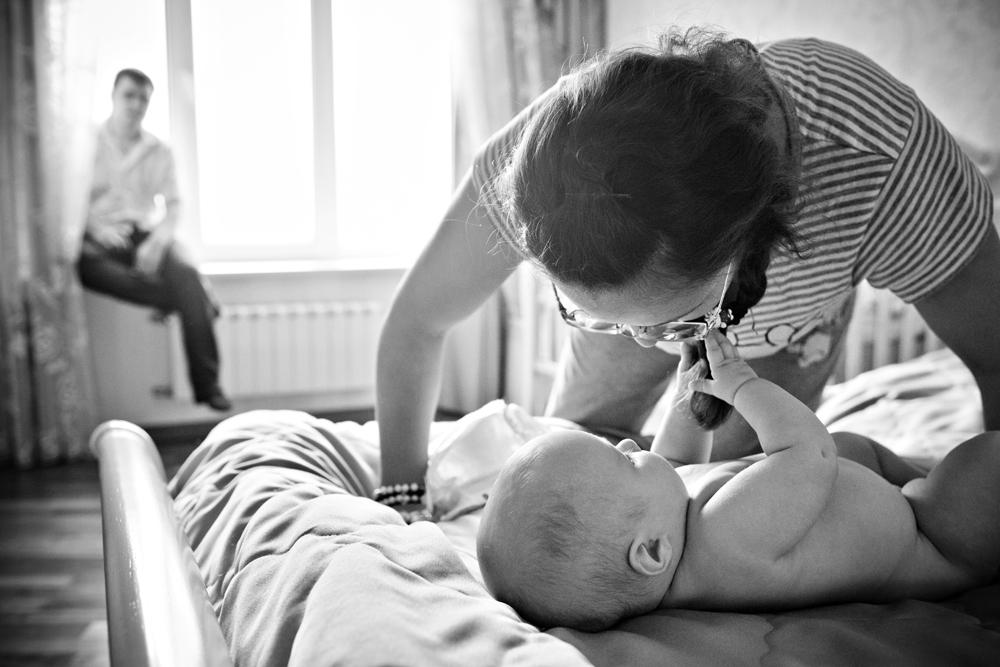 Как ребенок ведет себя в домашних условиях