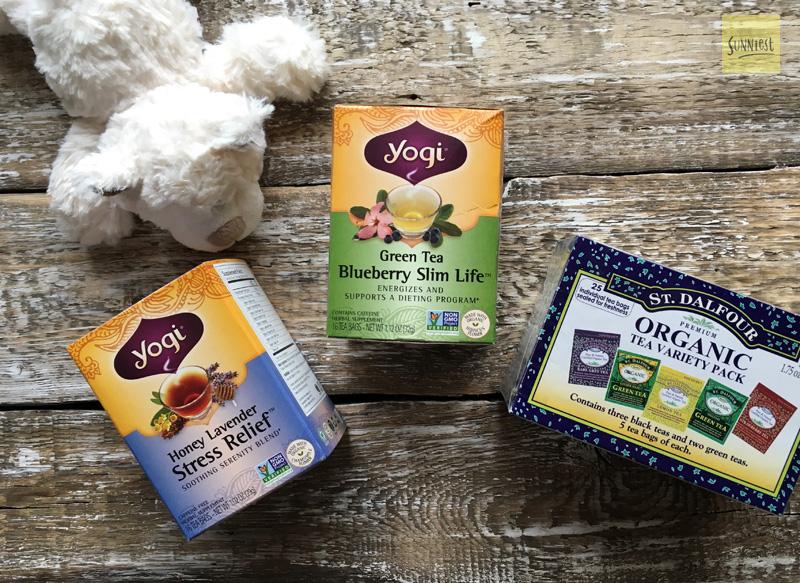 Что купить на айхерб: yogi tea