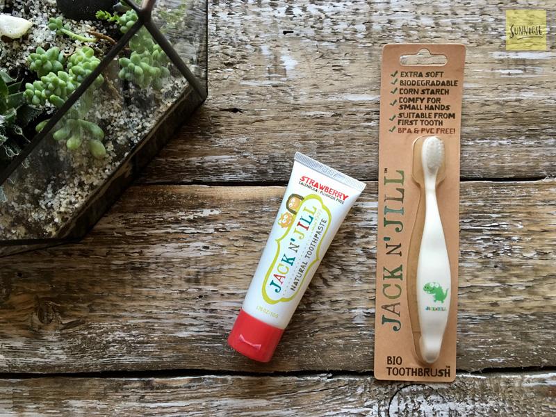 Зубная щетка и паста на iherb для детей